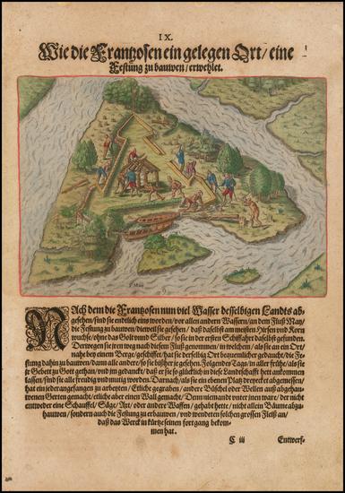 19-Southeast Map By Theodor De Bry