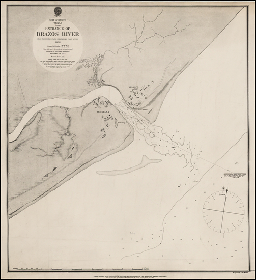 18-Texas Map By British Admiralty