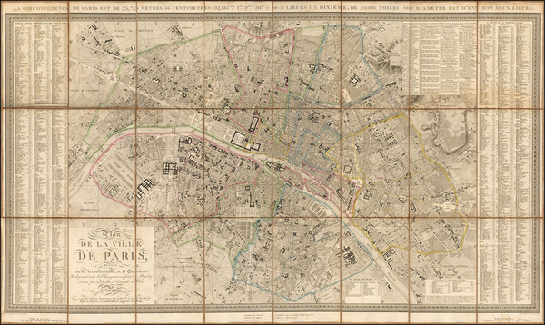56-Paris Map By Xavier Girard