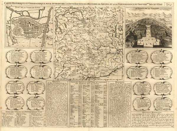 11-Europe, Switzerland and Italy Map By Henri Chatelain