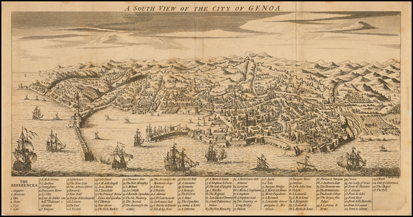 47-Italy, Northern Italy and Other Italian Cities Map By Thomas Jefferys