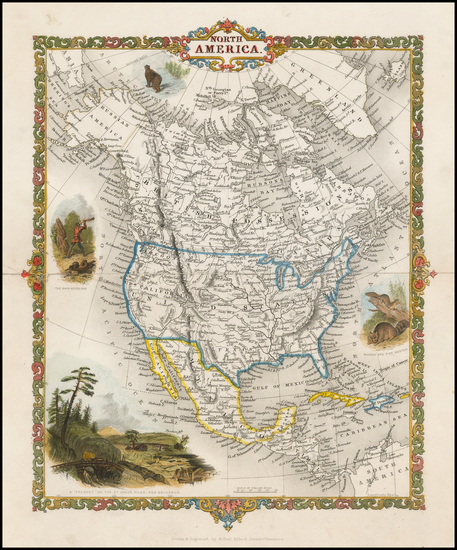 43-North America Map By Alfred Adlard