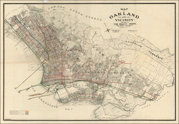 5-Other California Cities Map By Woodward, Watson & Co.