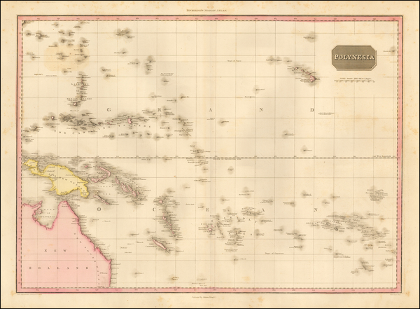 2-Australia, Oceania and Other Pacific Islands Map By John Pinkerton