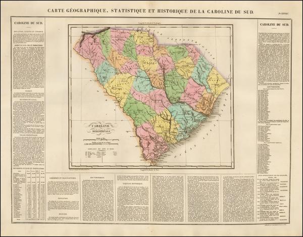 67-Southeast Map By Jean Alexandre Buchon