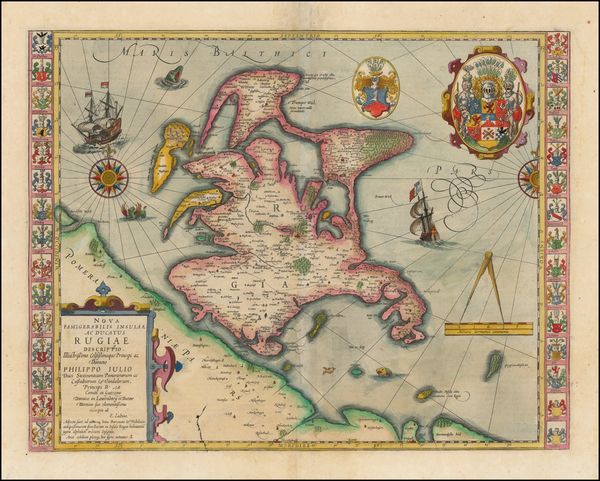 55-Germany and Baltic Countries Map By Jan Jansson