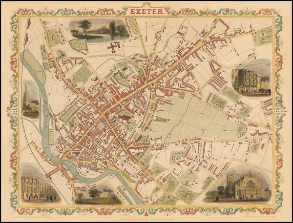 74-British Isles and British Counties Map By John Tallis
