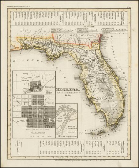 60-Florida Map By Joseph Meyer