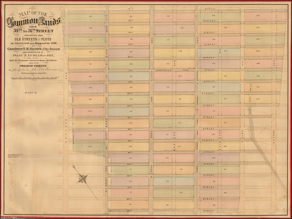 58-New York City Map By John Bute Holmes