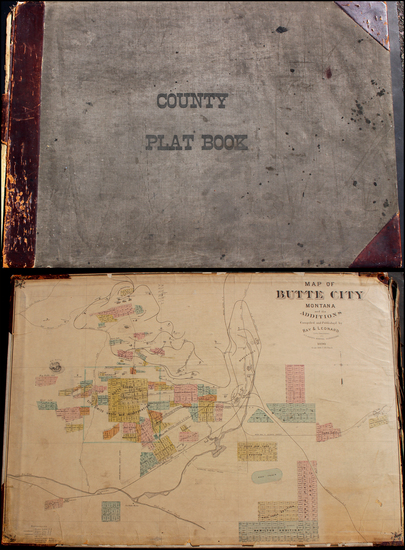 76-Rocky Mountains, Atlases and Rare Books Map By Anonymous