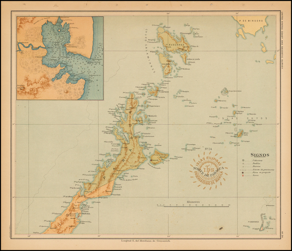 17-Philippines Map By Hoen & Co.