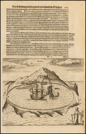 39-Other Islands Map By Theodor De Bry