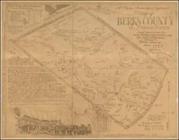 3-Pennsylvania Map By J. R. Rowe