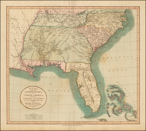 42-Florida, South, Alabama, Mississippi, Tennessee, Southeast, Georgia, North Carolina and South C