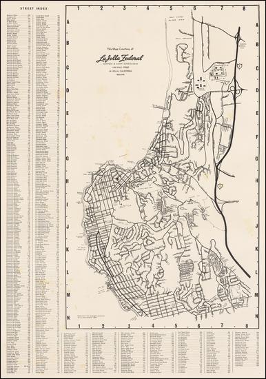 99-California Map By La Jolla Light