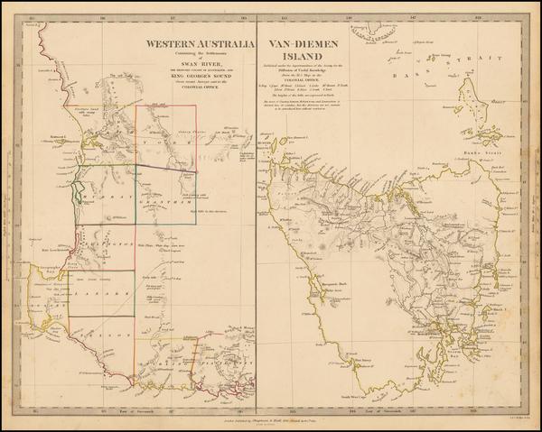 87-Australia Map By SDUK