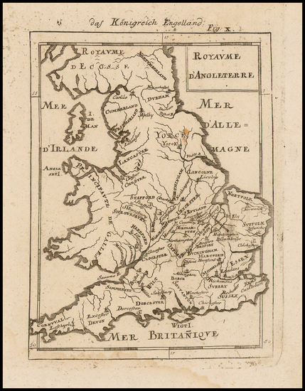 5-England Map By Alain Manesson Mallet