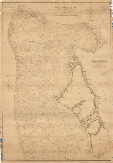 21-Bahamas Map By E & GW Blunt