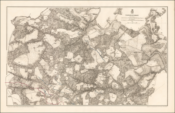 86-Southeast, Virginia and Civil War Map By United States War Dept.