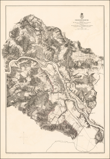 61-Maryland Map By United States War Dept.
