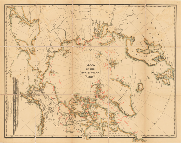 16-Polar Maps, Alaska and Scandinavia Map By William Bauman / The Graphic Co.