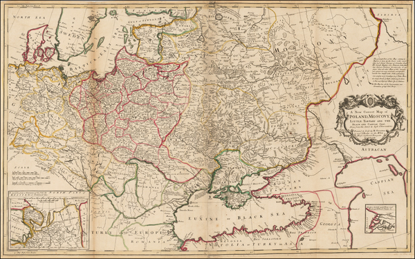 7-Poland, Russia and Ukraine Map By Henry Overton  &  John Hoole