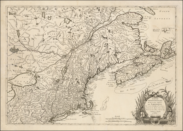 68-Mid-Atlantic, South, Southeast and Midwest Map By Ambrose Verrier  &  Francoise Perrier