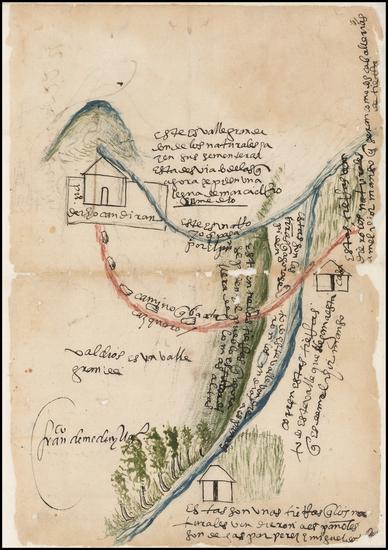33-Mexico Map By Francisco  de Medina