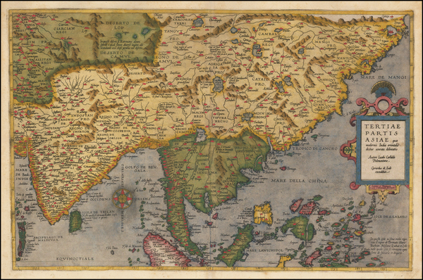 45-China, India, Southeast Asia, Philippines, Other Islands and Central Asia & Caucasus Map By