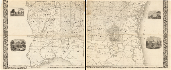 65-Southeast Map By William G. Bonner