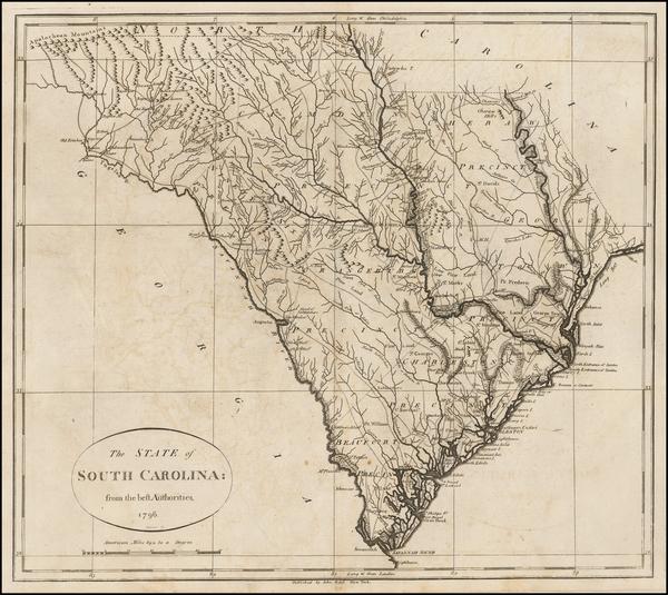44-Southeast and South Carolina Map By John Reid