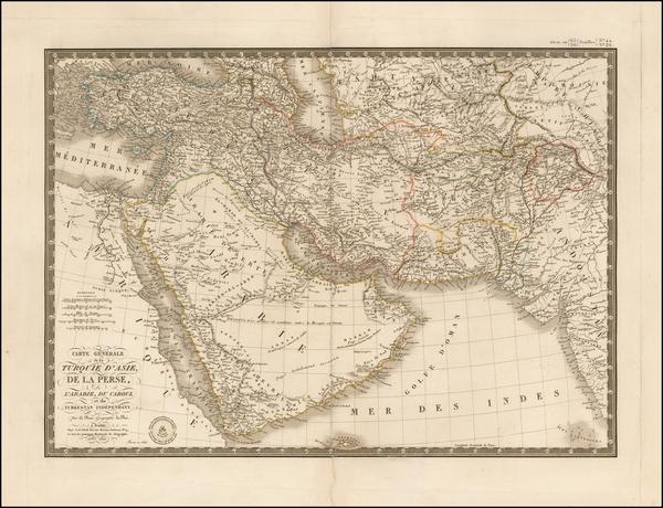 8-Central Asia & Caucasus, Middle East, Arabian Peninsula, Persia and Turkey & Asia Minor