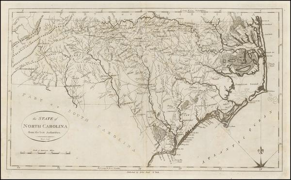 71-Southeast and North Carolina Map By John Reid