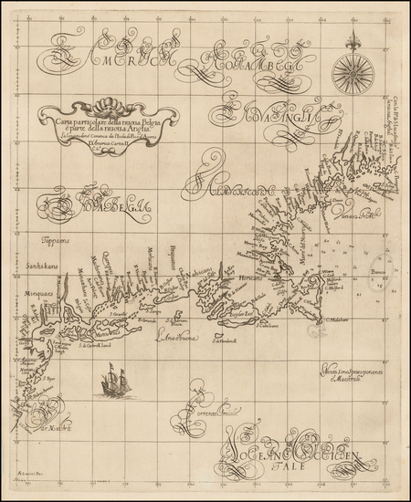 6-New England, New York State and Mid-Atlantic Map By Robert Dudley
