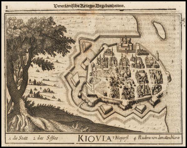 95-Ukraine Map By Johann Christoph  Wagner