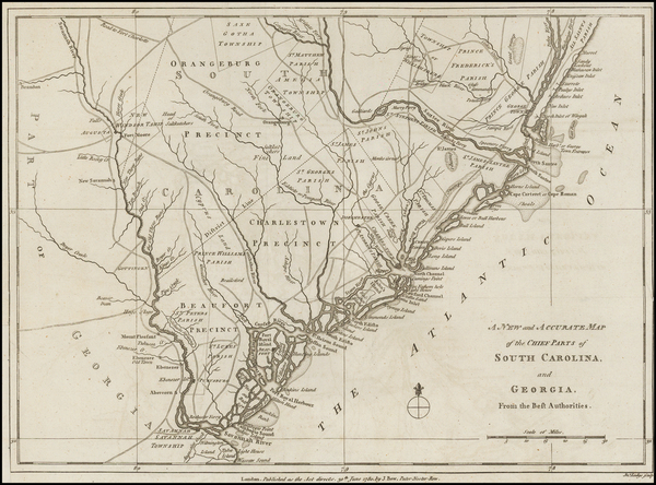 36-Southeast and South Carolina Map By Political Magazine