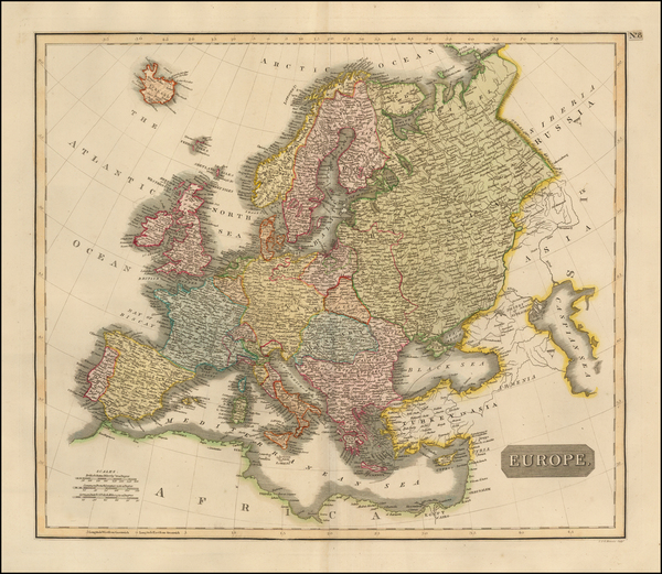 Europe and Europe Map By John Thomson