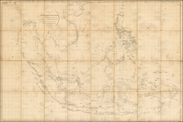 37-China, Southeast Asia, Philippines, Indonesia, Malaysia and Other Islands Map By Aaron Arrowsmi