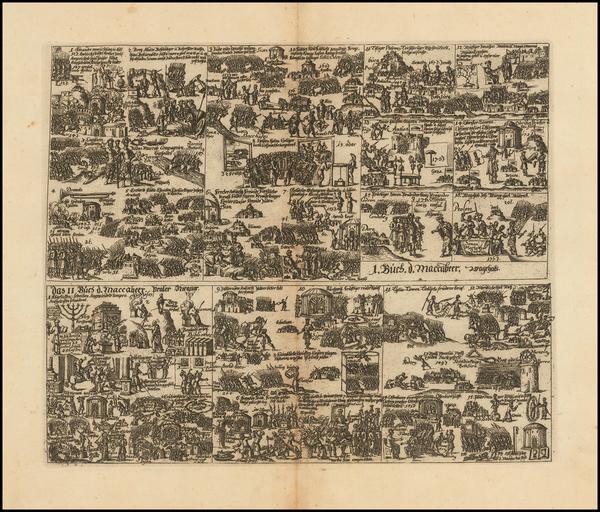 29-Comic & Anthropomorphic Map By Johannes Buno