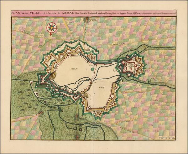 74-France Map By Johannes Covens  &  Cornelis Mortier