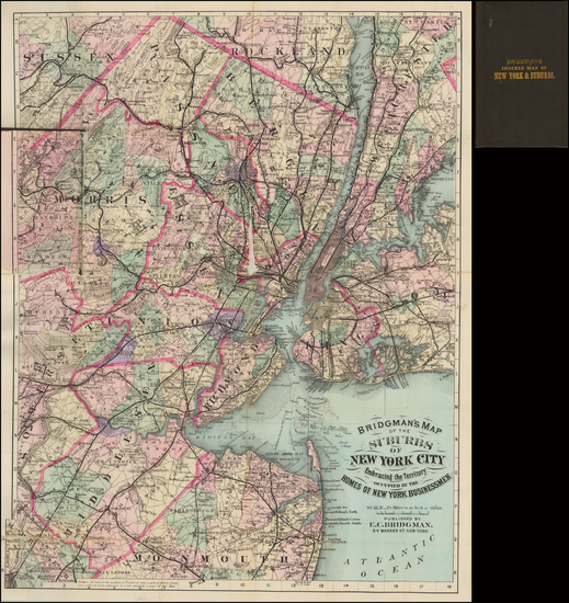 49-New York City Map By E.C. Bridgman