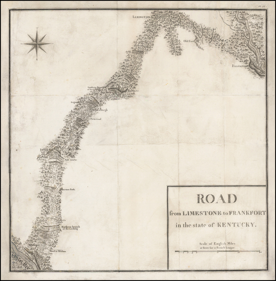 67-South and Midwest Map By Victor George Henri Collot
