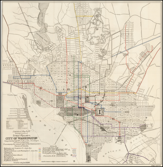 24-Mid-Atlantic and Southeast Map By United States Bureau of Topographical Engineers