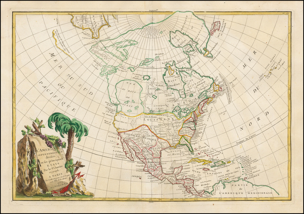 6-Pacific Northwest and North America Map By Jean Janvier