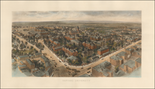 New England Map By Richard Rummell / Littig & Company