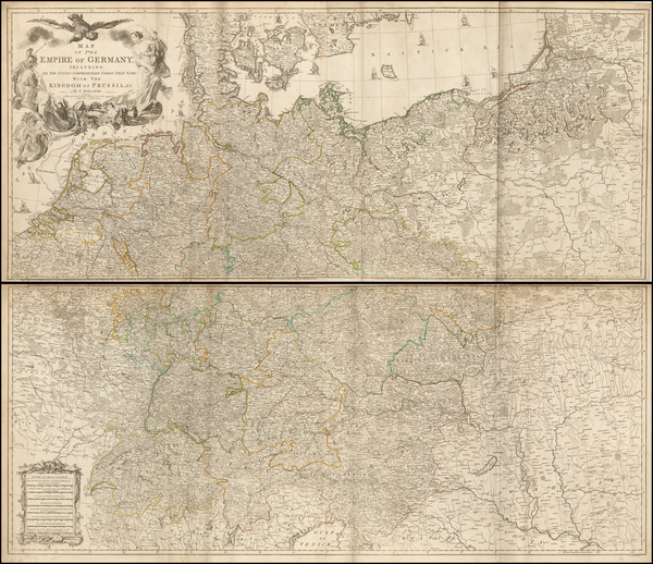 14-Germany Map By Robert Sayer