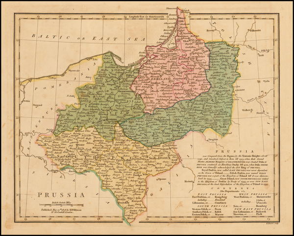 62-Germany, Poland and Balkans Map By Robert Wilkinson