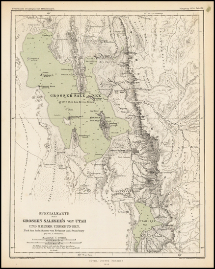 0-Southwest Map By Augustus Herman Petermann