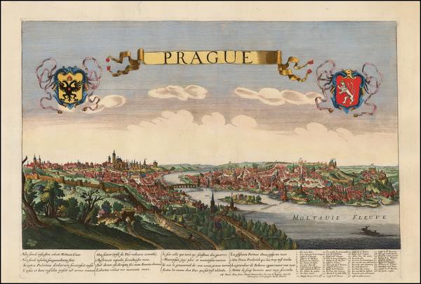 42-Czech Republic & Slovakia Map By Jean Sauve