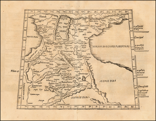 75-Central Asia & Caucasus Map By Lorenz Fries
